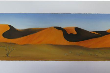 Wüste in Sesriem  30 x 70  Fr. 320.00